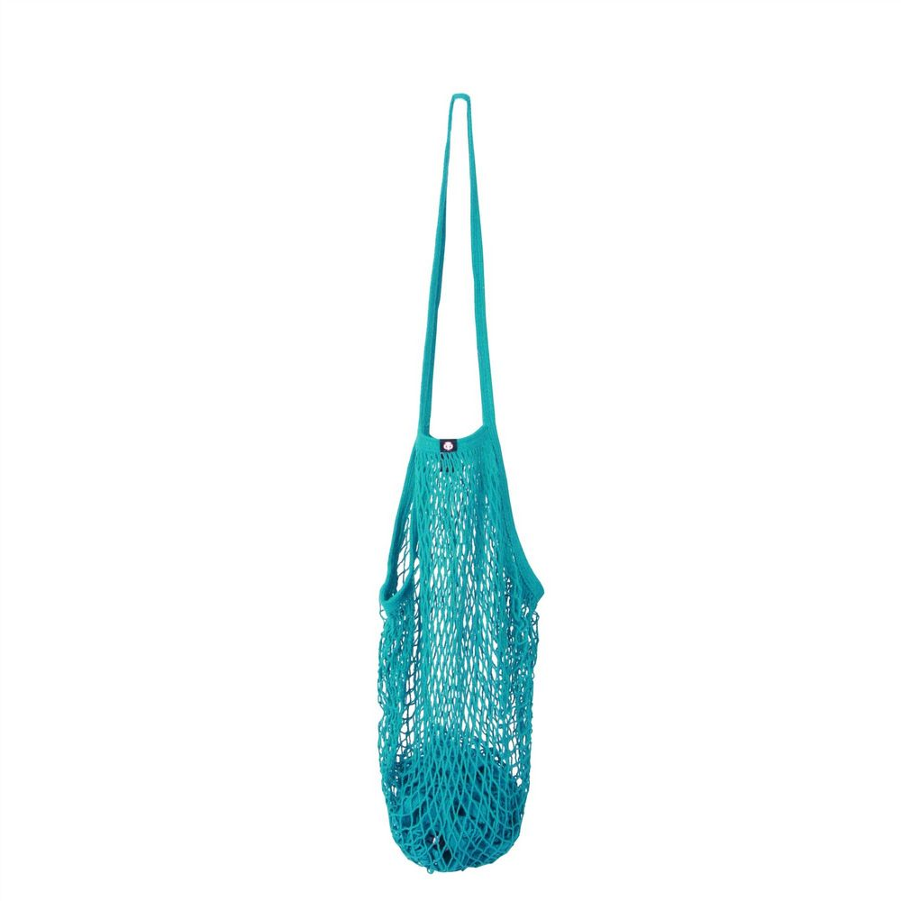 Cotton String Bag - Turquoise